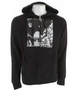 Ashbury Loner Fleece Black