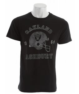 Ashbury Oakland T-Shirt Black