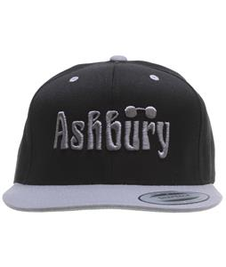 Ashbury Og Cap Black/Grey Adjustable