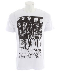 Ashbury Skeleton Crew T-Shirt White