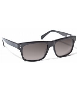 Ashbury Slide Machine Sunglasses Black Lens