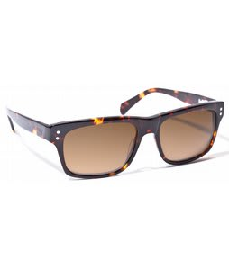 Ashbury Slide Machine Sunglasses Brown Tortoise Lens