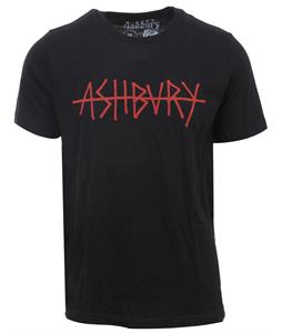 Ashbury Strikeout T-Shirt Black