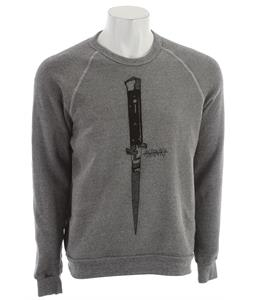 Ashbury Switchblade Sweatshirt Heather Grey