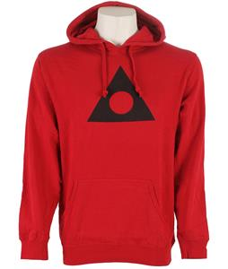 Ashbury Triangle Circle Hoodie Crimson