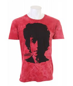 Ashbury Visions Of Johanna T-Shirt Red Wash