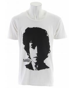 Ashbury Visions Of Johanna T-Shirt White