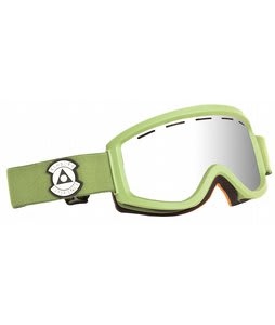 Ashbury Warlock Goggles Army/Silver Mirror Lens