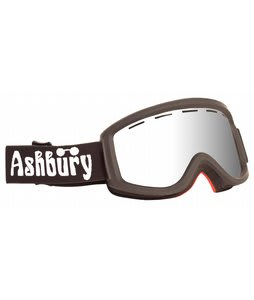 Ashbury Warlock Goggles Black/Silver Mirror Lens
