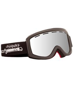 Ashbury Warlock Goggles Black Switchblade/Silver Mirror Lens