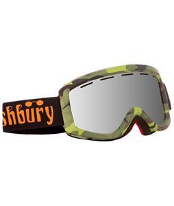 Ashbury Warlock Goggles Camo/Silver Mirror Lens