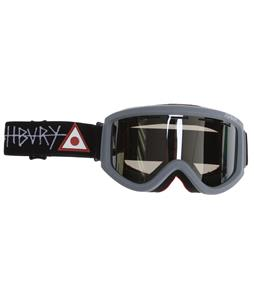 Ashbury Warlock Goggles Nick Dirks/Silver Mirror Lens