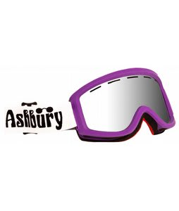 Ashbury Warlock Goggles Purple/Silver Mirror Lens