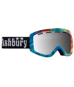 Ashbury Warlock Goggles Tie Dye/Silver Mirror Lens