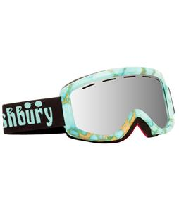 Ashbury Warlock Goggles Turquoise/Silver Mirror Lens