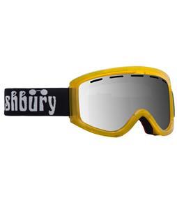 Ashbury Warlock Goggles Yellow/ Silver Mirror Lens