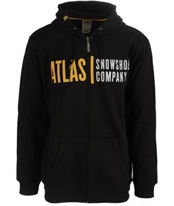 Atlas Logo Full Zip Hoodie