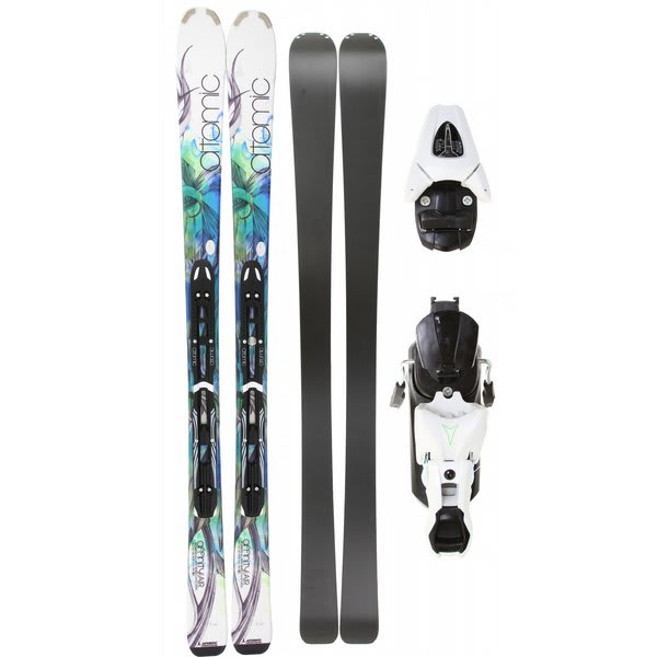 Atomic Affinity Air Skis w/ XTL 9 Lady Bindings