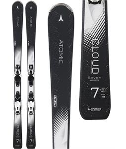 Atomic Cloud Seven Womens Skis 155 w/ Lithium 10 Bindings