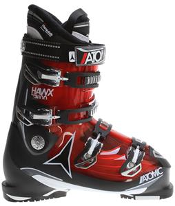 Atomic Hawx 2.0 100 Ski Boots Transparent Red/Black