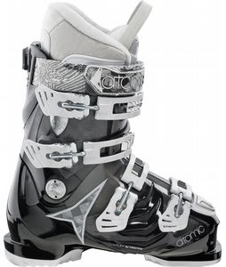 Atomic Hawx 80 Ski Boots Black/Black Transparent