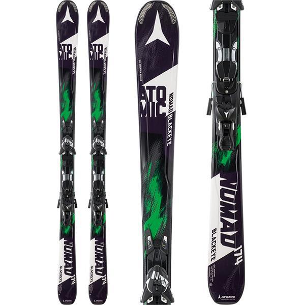 Atomic Nomad Blackeye Arc Skis w/ XTO 12 Bindings