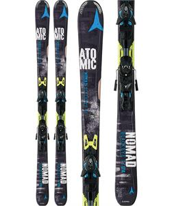 Atomic Nomad Blackeye TI Skis 167 w/ XTO 12 Bindings Black/Blue