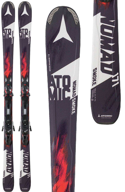 10 bindings atomic nomad smoke mens skis 171 w