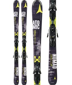 Atomic Nomad Smoke TI Skis 178 w/ XTO 12 Bindings Black/Yellow