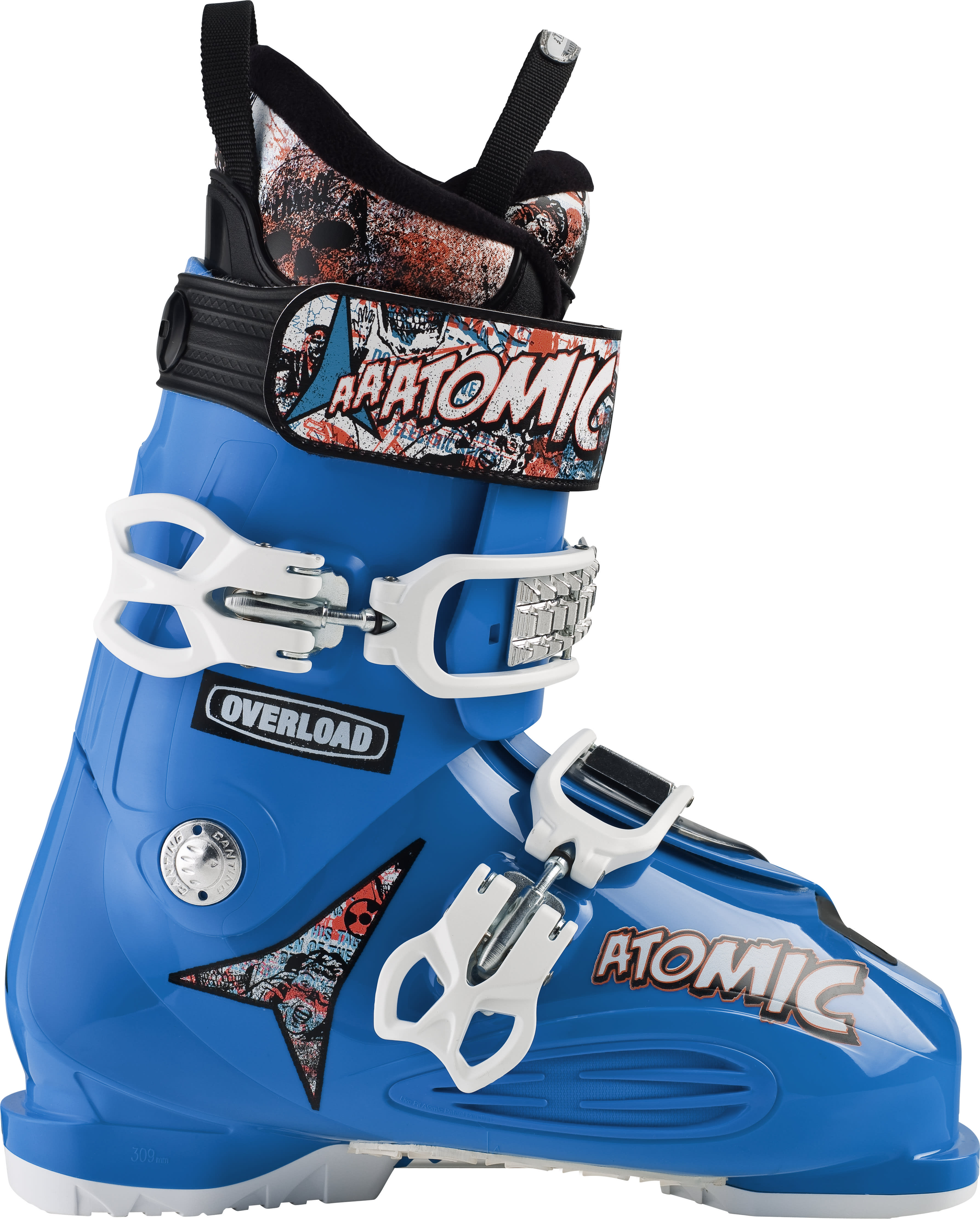 Shop for Atomic Overload Reactor Ski Boots Blue/Blue - Men's