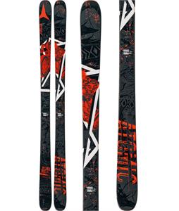 Atomic Punx Skis 164 Black/Orange