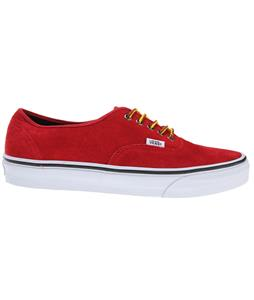 Vans Authentic Shoes (Hiker Suede) Chili Pepper