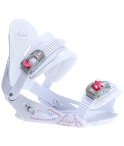 Avalanche Serenity Snowboard Bindings White