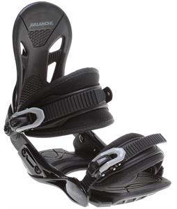 Avalanche Summit Snowboard Bindings Black