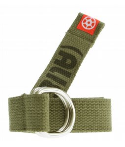 Alien Workshop D-Ring Web Belt Olive