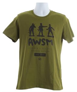 AWSM Army Men T-Shirt Green