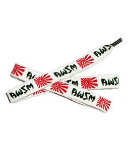 AWSM Fatty Lace Belt Christian Hosoi White