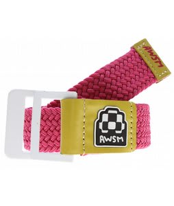 AWSM Nicole Belt Magenta/Yellow