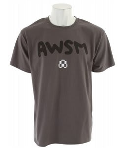 AWSM Solid T-Shirt Gray