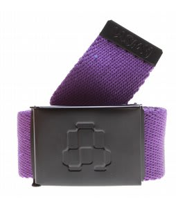 AWSM Web Belt Purple