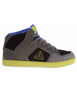 Axion Atlas Skate Shoes Gray/Black/Neon Tron