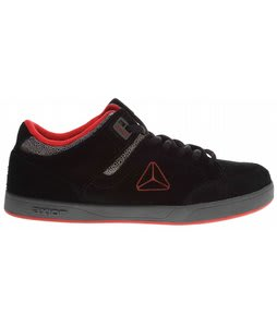 Axion Mandela Skate Shoes Suspence Black/Gray/Red
