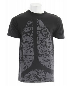 Axion Marble T-Shirt Black