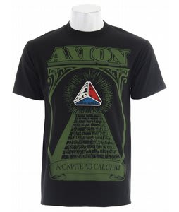 Axion Pyramid T-Shirt Black