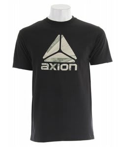 Axion Stacks T-Shirt Black
