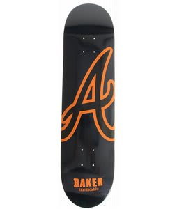 Baker Reynolds Atl Skateboard Deck Navy/Orange 8.19