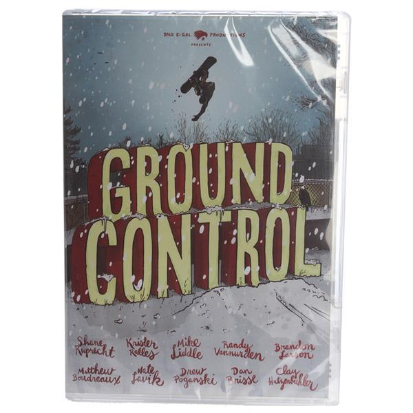 Bald E-Gal Ground Control Snowboard DVD