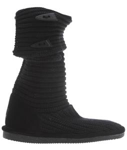 Bearpaw Knit Tall Boots Black