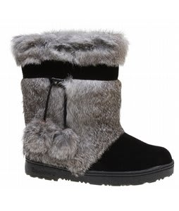 Bearpaw Tama Boots Black Tipped Fur
