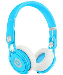 Beats Mixr Headphones Neon Blue